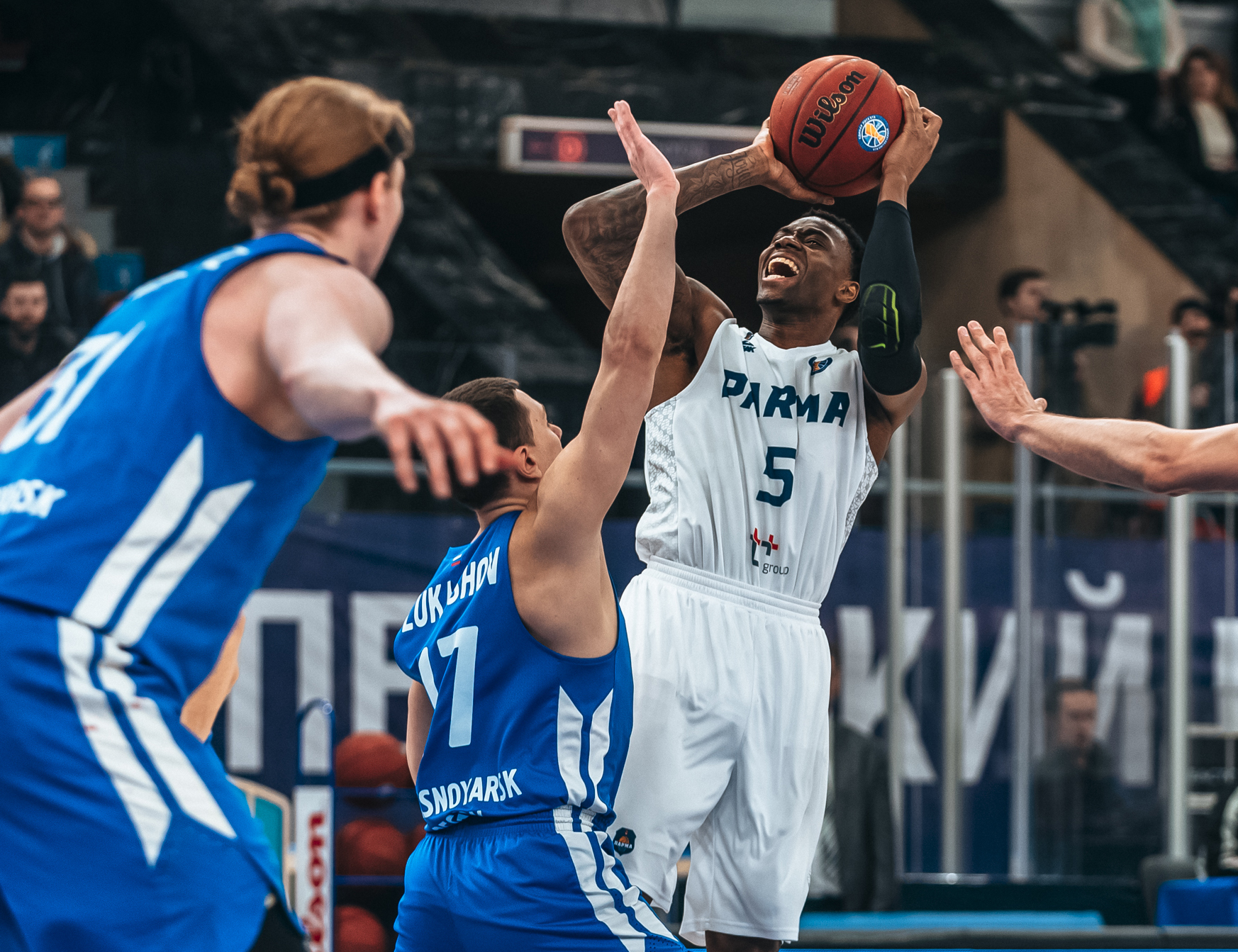 PARMA Wins, Dents Enisey's Playoff Hopes