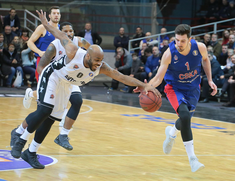 De Colo Dominates, CSKA Stuns Avtodor In OT