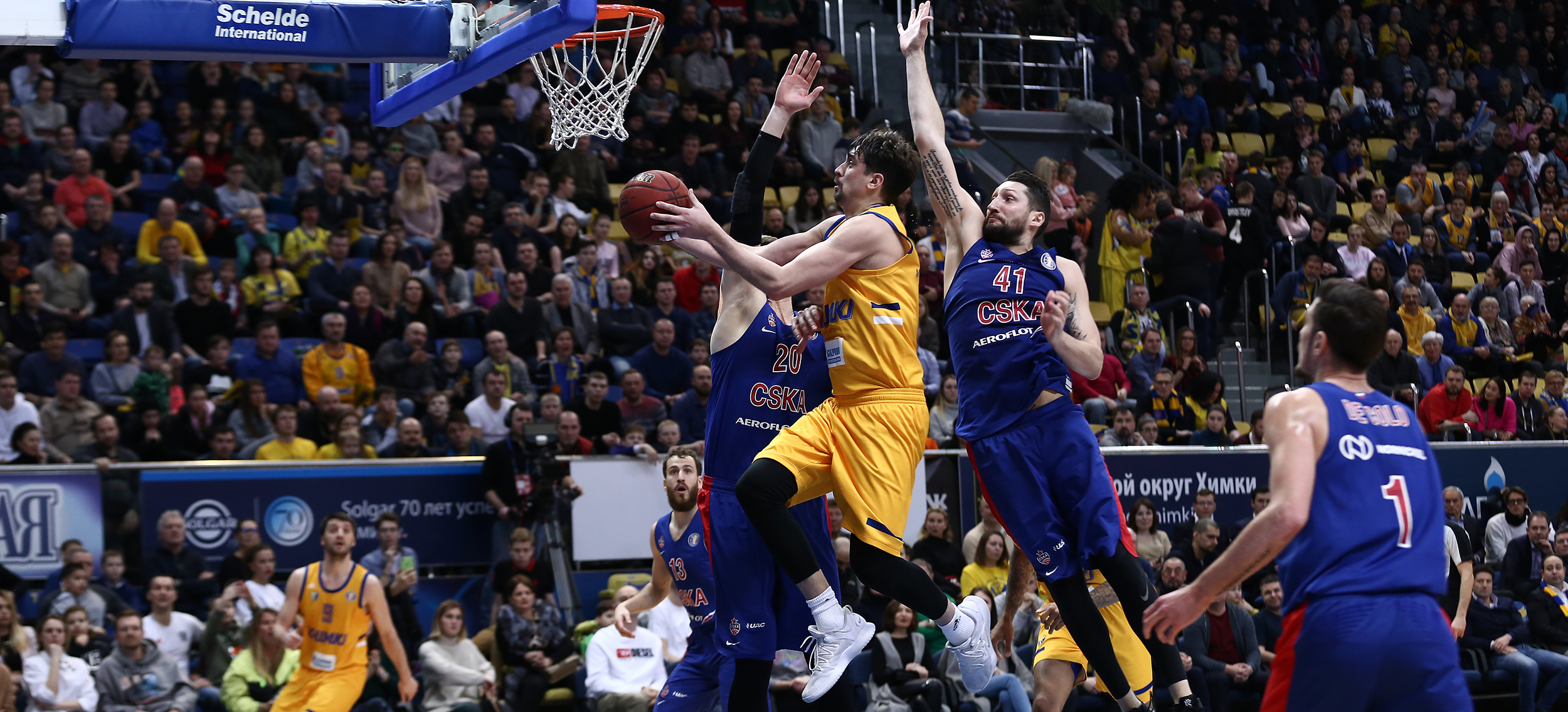 Shved Shines, Khimki Ends 4-Year Drought vs. CSKA