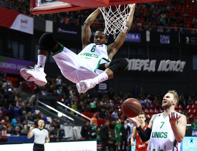 Lokomotiv-Kuban vs. UNICS Highlights