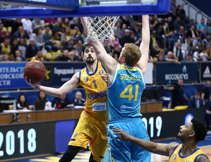 «Химки» — «Астана». Лучшие моменты