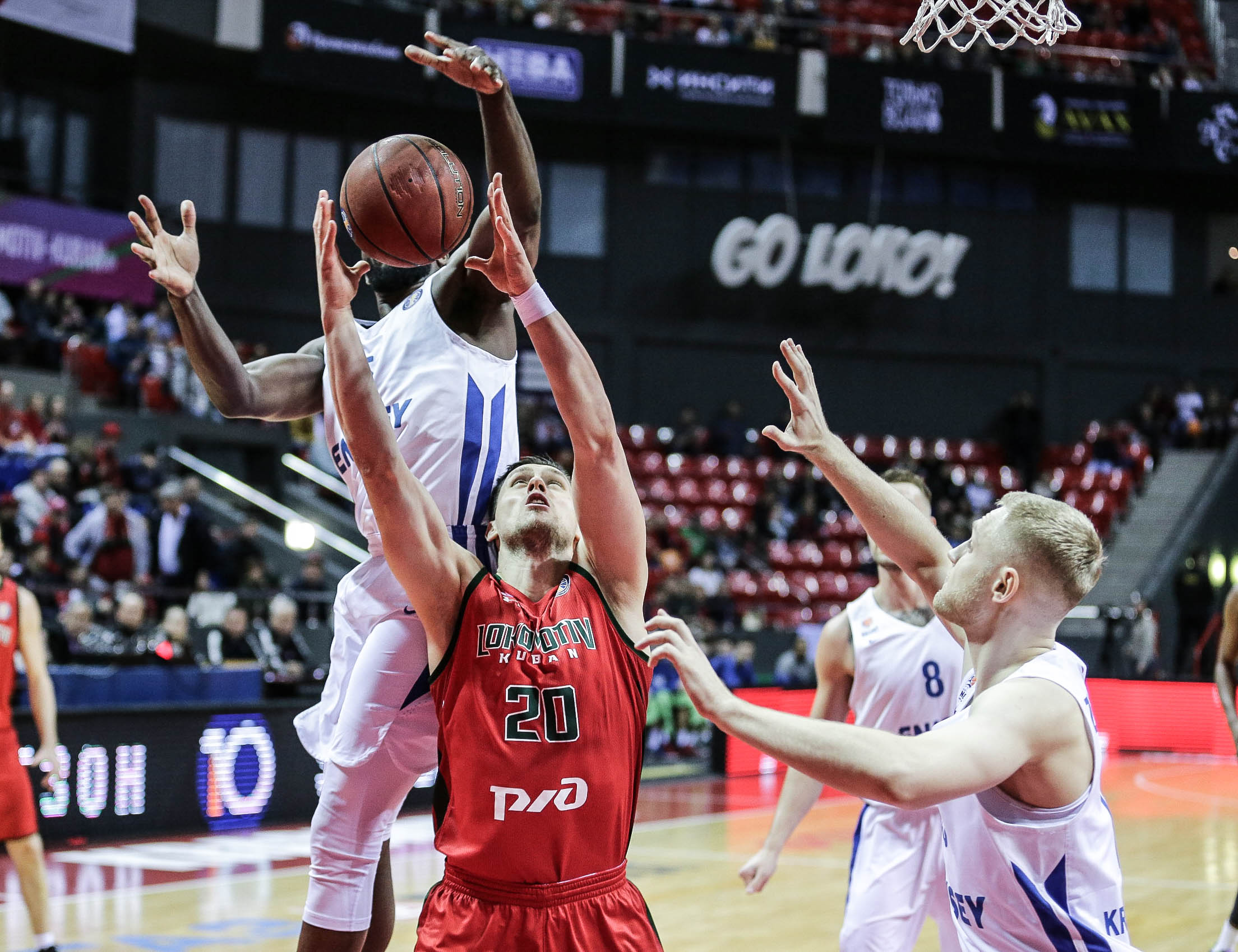 Lokomotiv Locks Down Enisey For 13th Win