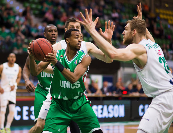 UNICS Erases 13-Point Deficit In Poland