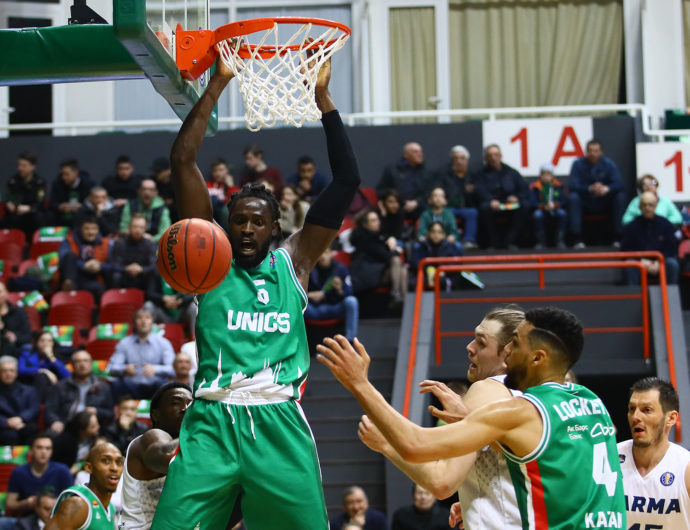 UNICS vs. PARMA Highlights