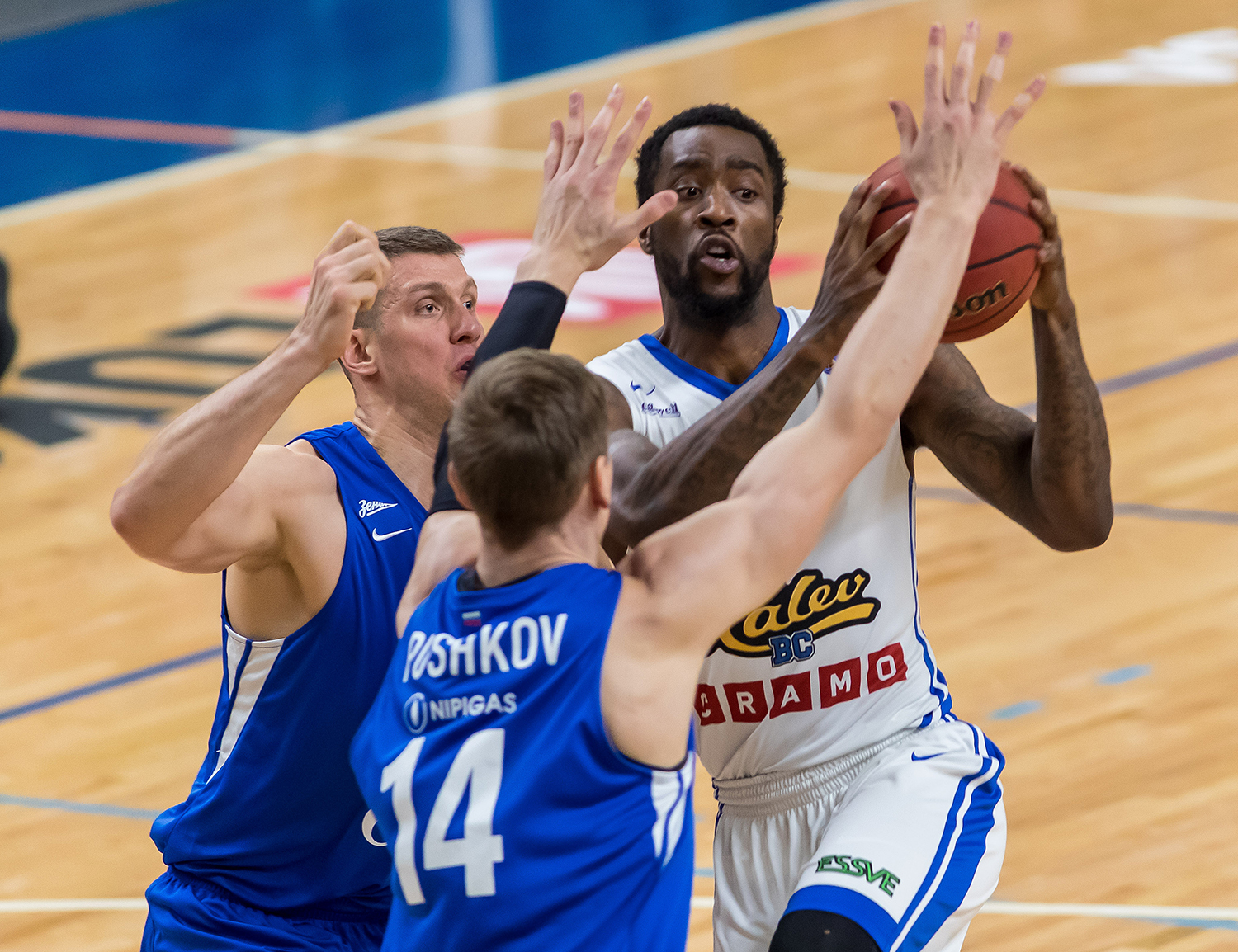 Kalev Routs Zenit To Clinch First-Ever Playoff Berth