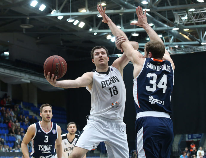 Nizhny Uses 3rd-Quarter Surge To Defeat Tsmoki