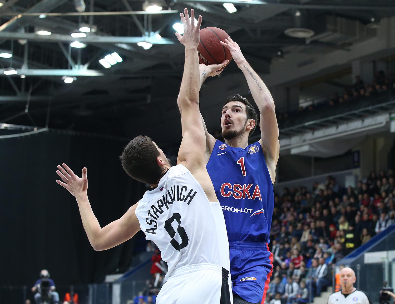 CSKA Nets Win In Nizhny Novgorod
