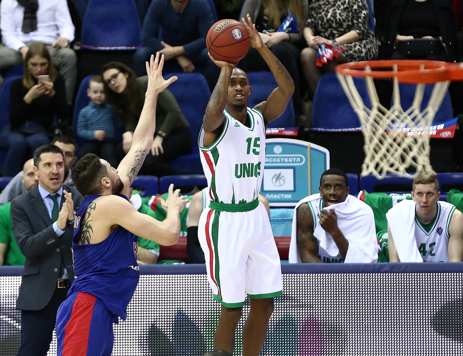 UNICS Puts CSKA Away, Sets Sights On 1st Place