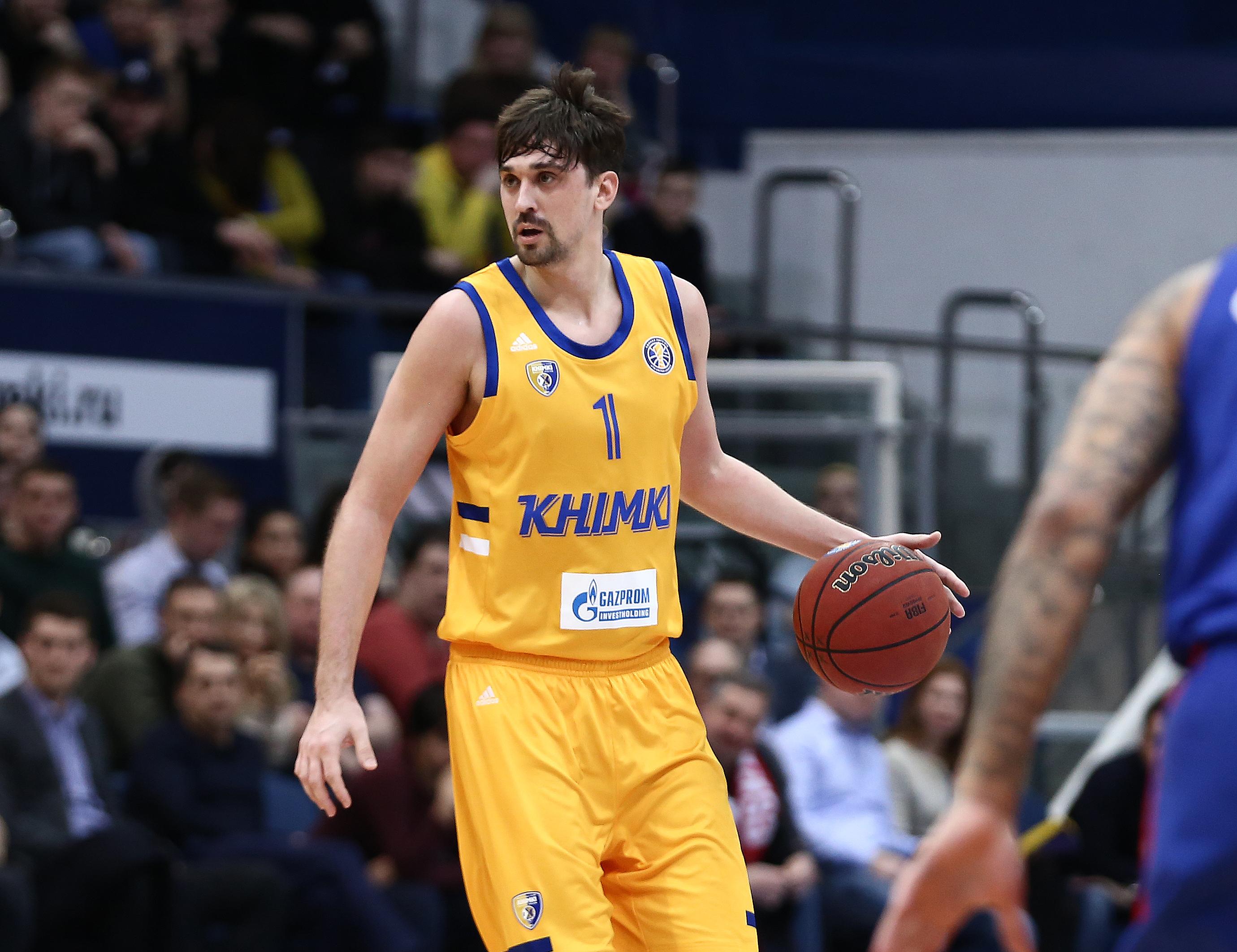 Alexey Shved Wins March MVP