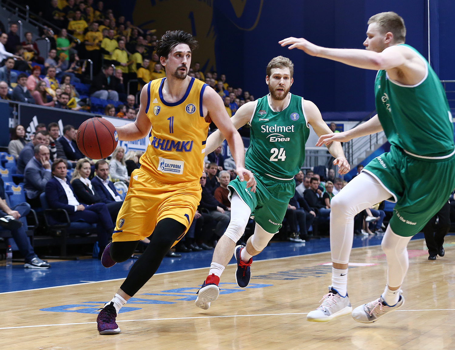 Khimki Stays Hot, Blows Out Zielona Gora