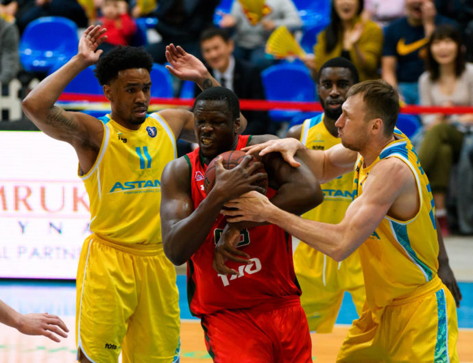 Astana vs. Lokomotiv-Kuban Highlights