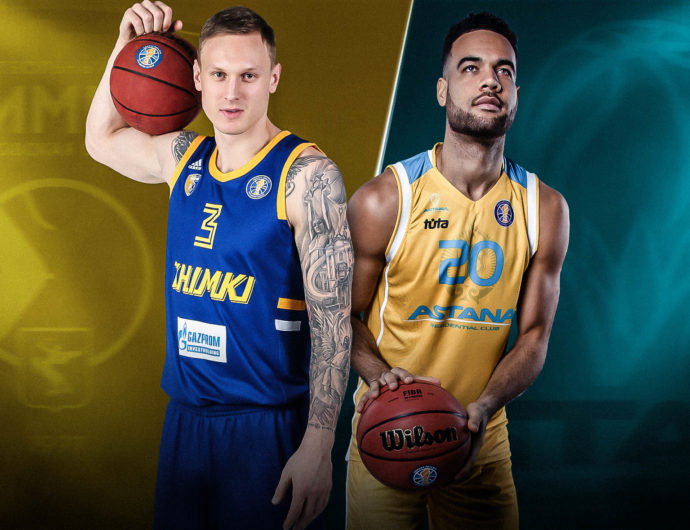 Quarterfinals: Khimki (3) vs. Astana (6)