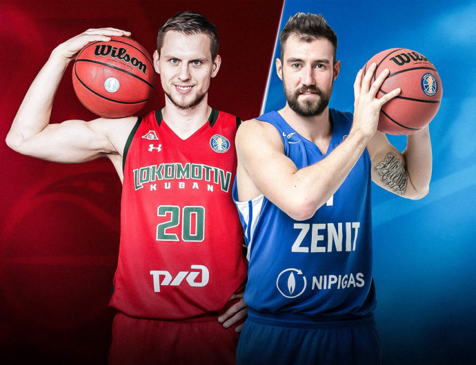 Quarterfinals: Lokomotiv-Kuban (4) vs. Zenit (5)