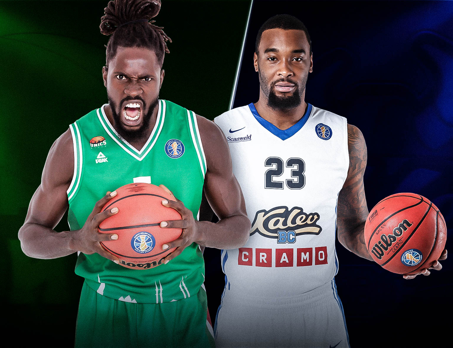 Quarterfinals: UNICS (2) vs. Kalev (7)