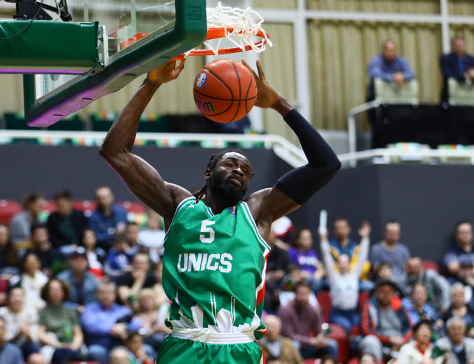 UNICS vs. Kalev Highlights