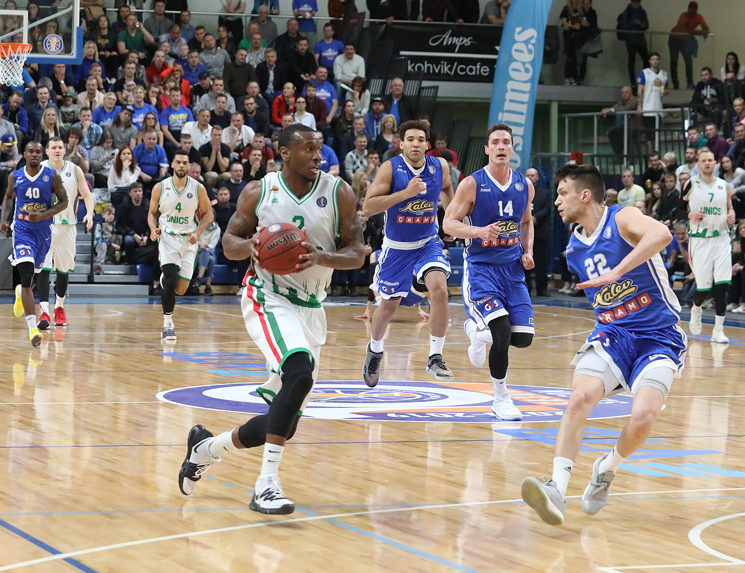 UNICS Catches Fire From Outside, Sweeps Kalev
