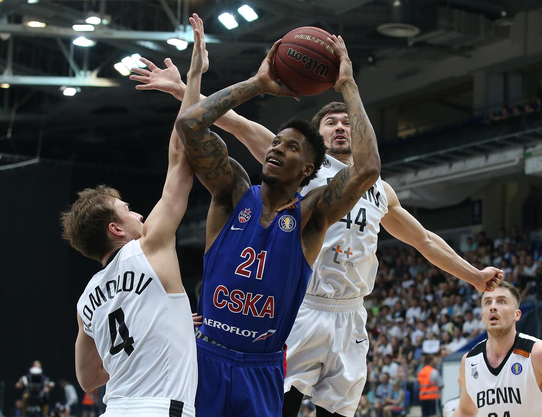 CSKA Holds Off Nizhny Novgorod To Reach Semifinals