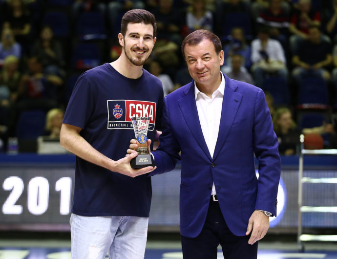 Nando De Colo Honored For 2018-19 Performance Of The Season