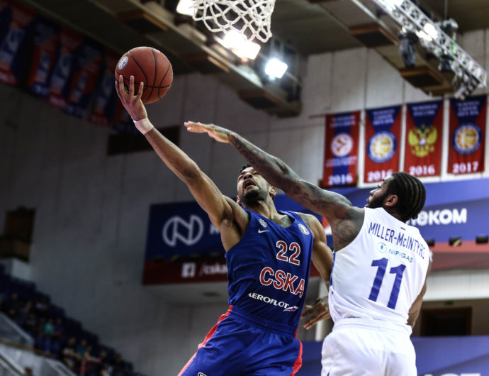 CSKA Goes Inside For Game 1 Win