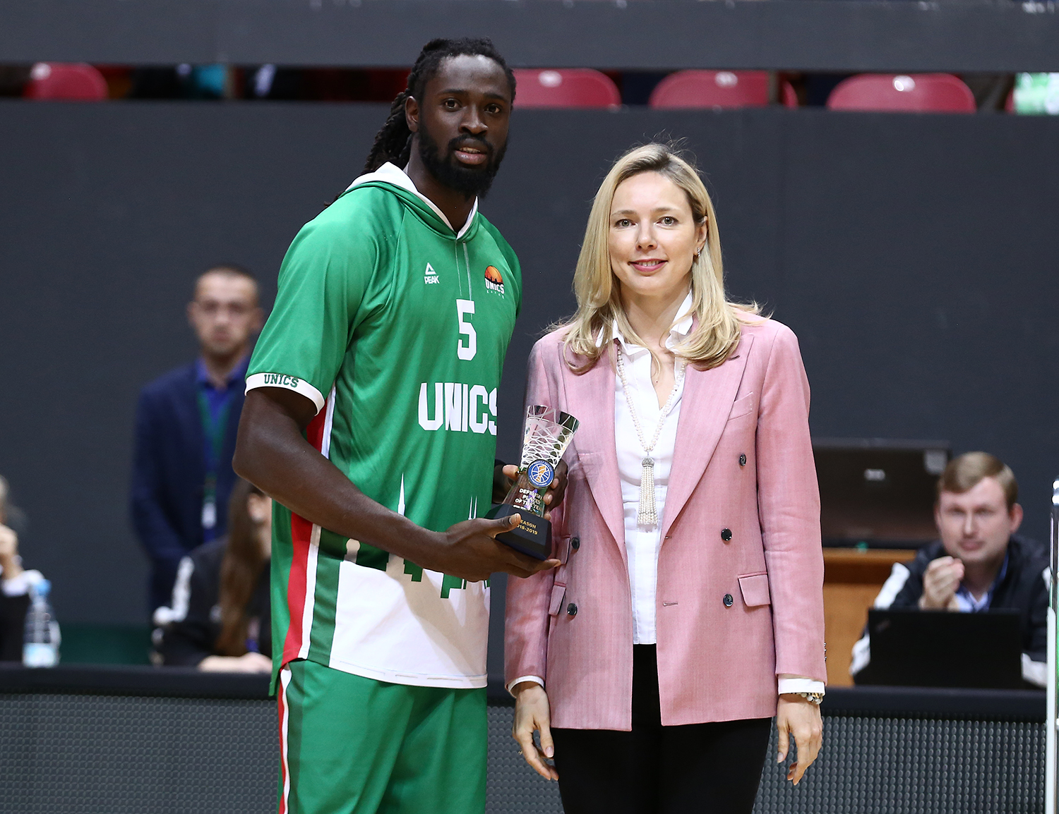 Maurice Ndour Wins Defensive Player Of The Year