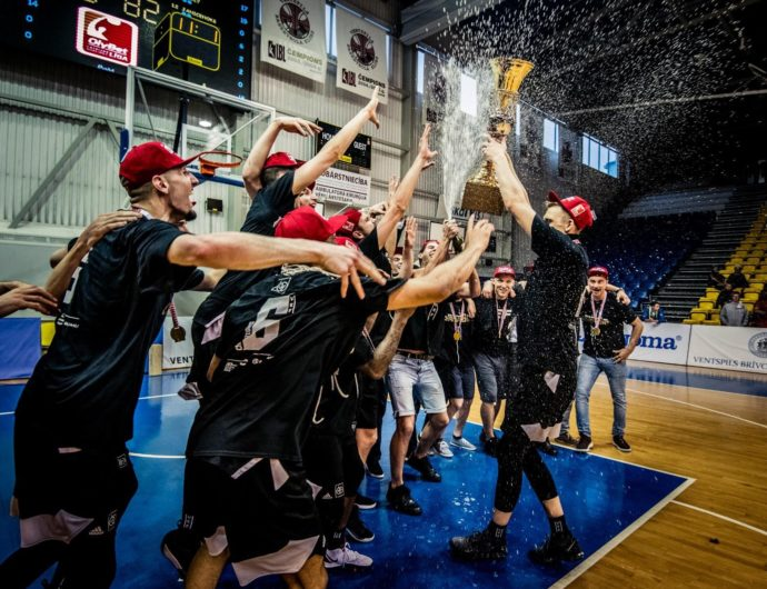 VEF Wins Latvian Title