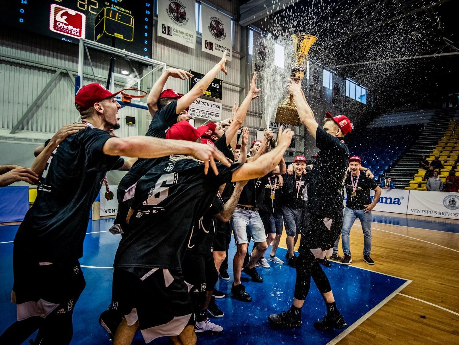 ВЭФ — чемпион Латвии