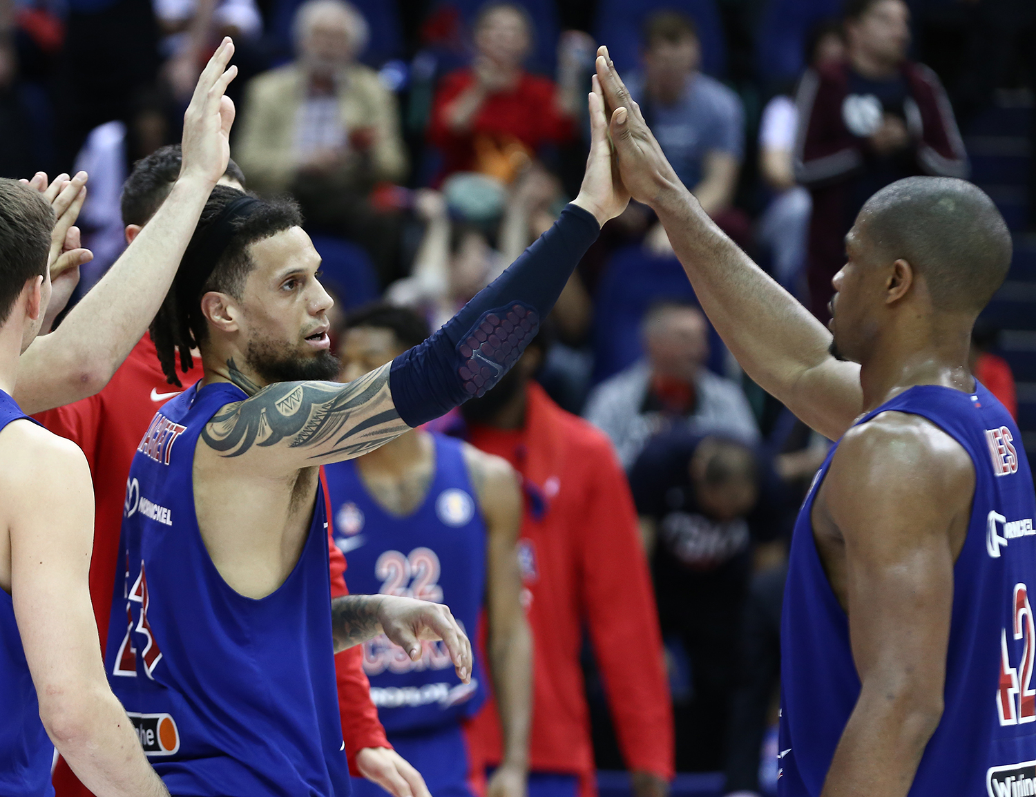 Semifinals In Review: CSKA Wins Series With Blocks, Shved And Timma Crack UNICS's Defense
