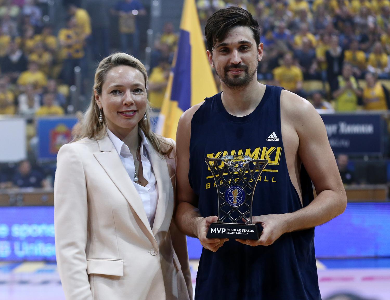 Alexey Shved Wins Regular Season MVP