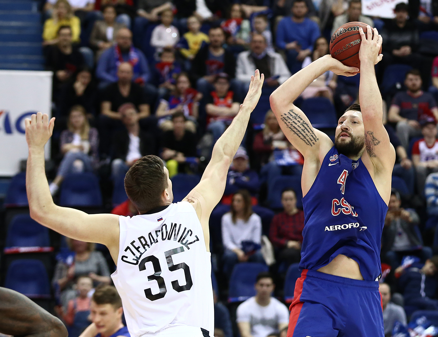 CSKA Begins Title Defense With 37-Point Blowout