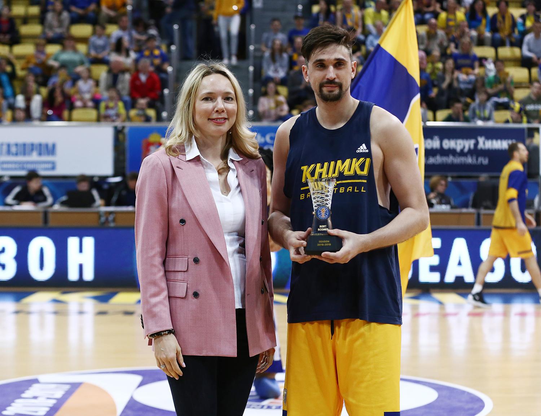Alexey Shved Wins 2018-19 Scoring Title