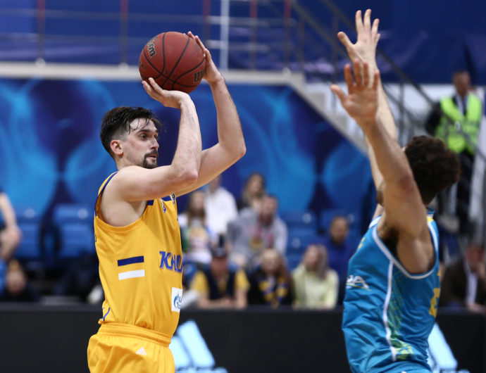 Shved Scores 2500th Point, Khimki Beats Astana Again