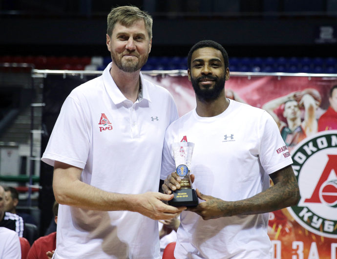 Dorell Wright Named 2018-19 Sixth Man Of The Year