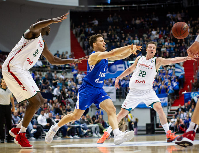 Zenit vs. Lokomotiv-Kuban Game 3 Highlights