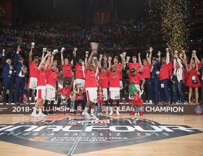 CSKA Wins EuroLeague!