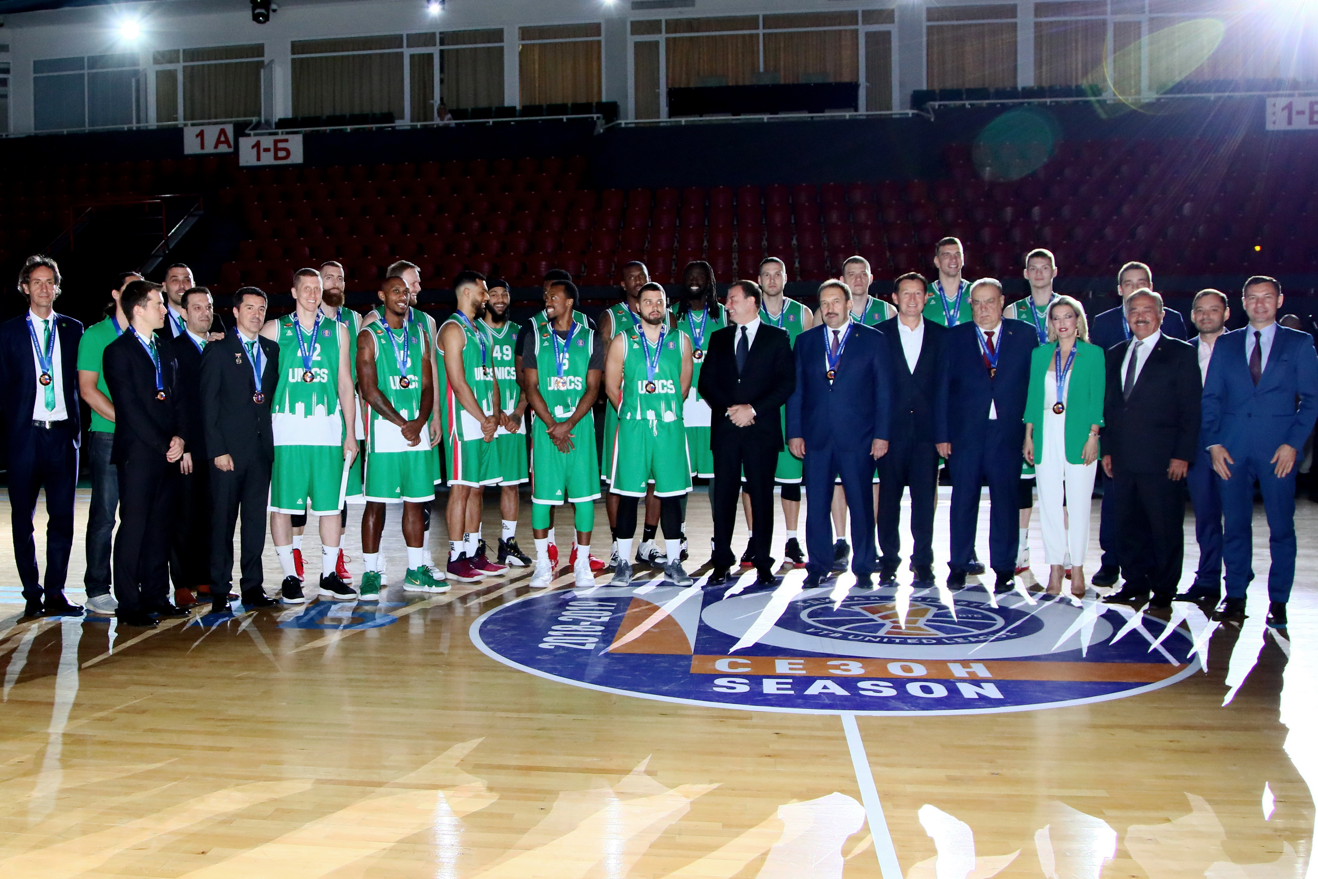 UNICS Awarded Third-Place Medals In Russian Championship