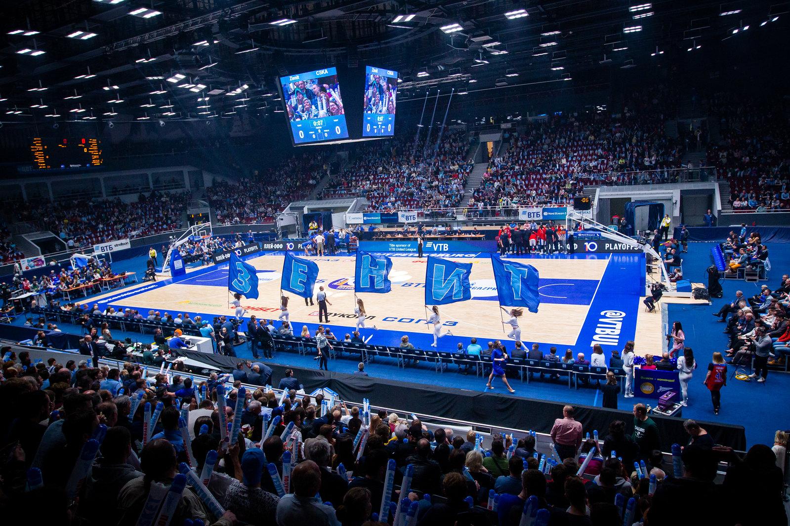 Zenit Receives 2019-20 EuroLeague Wild Card