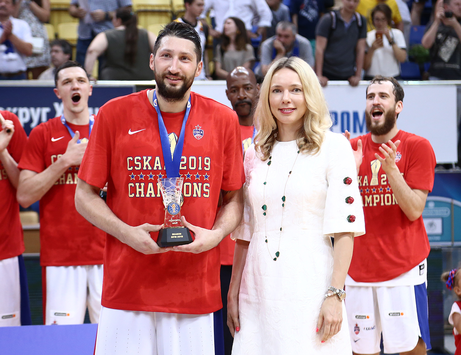 Nikita Kurbanov Wins Playoffs MVP