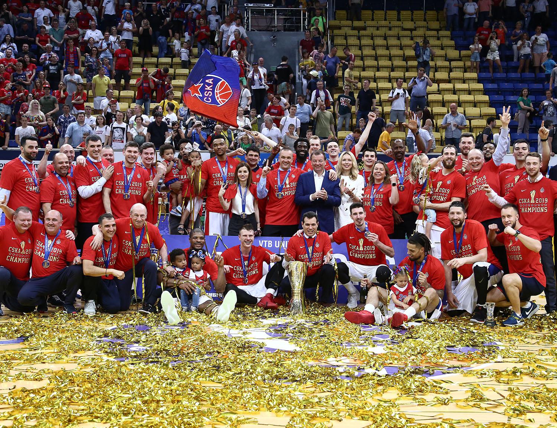 CSKA Wins 9th VTB United League Title
