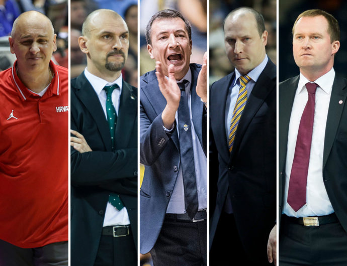 First glance. League's five new coaches
