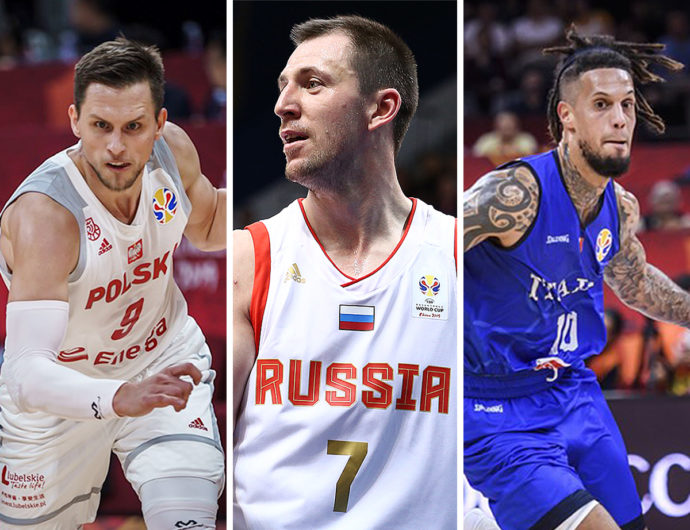 Hackett, Ponitka, Fridzon, and 16 more League players on World Cup 2019