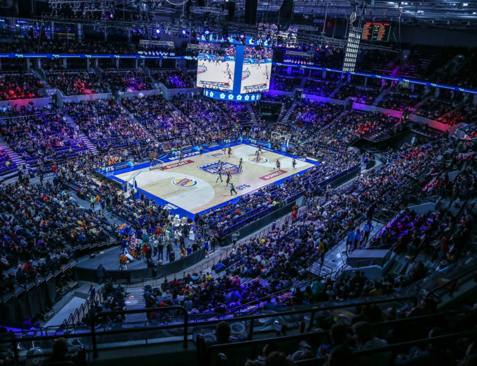 The highest attendance at Russian arenas in League history