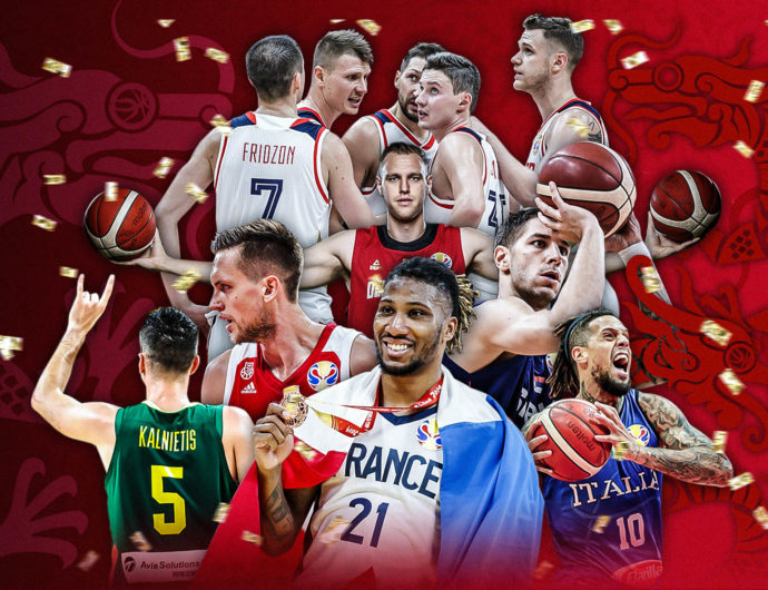 VTB League players at the world cup in China. Results