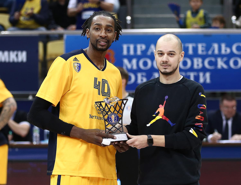 Джереми Эванс — MVP октября