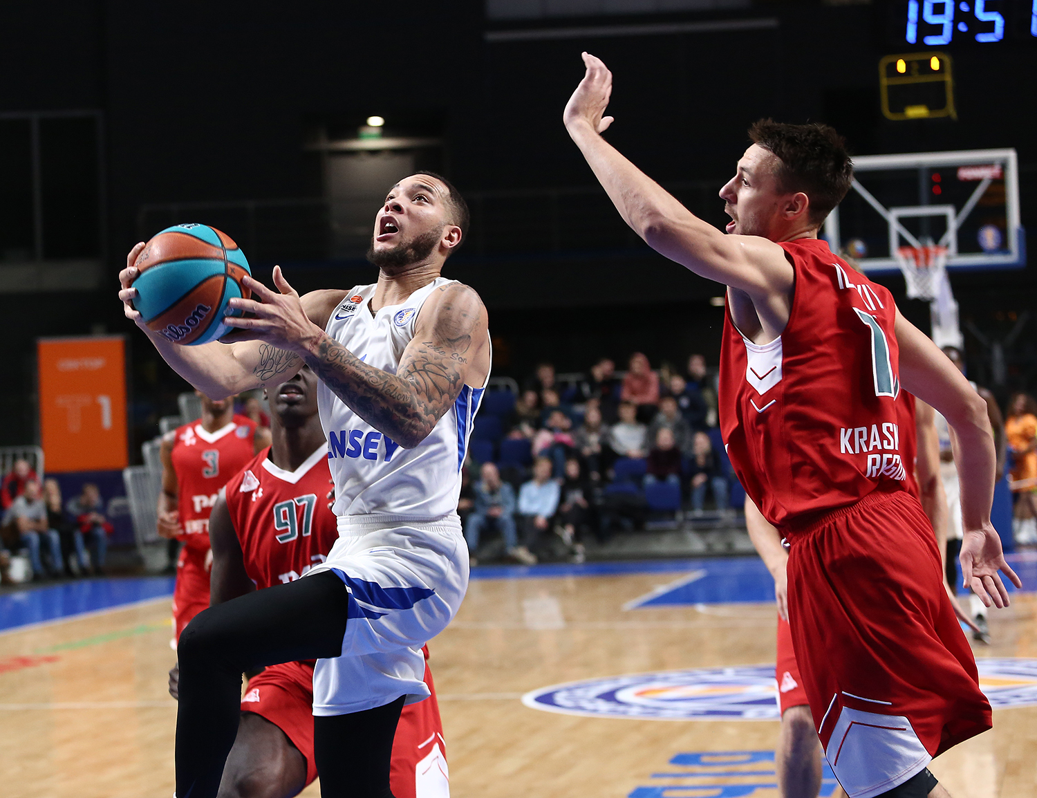 Enisey's first win over Loko in Krasnoyarsk