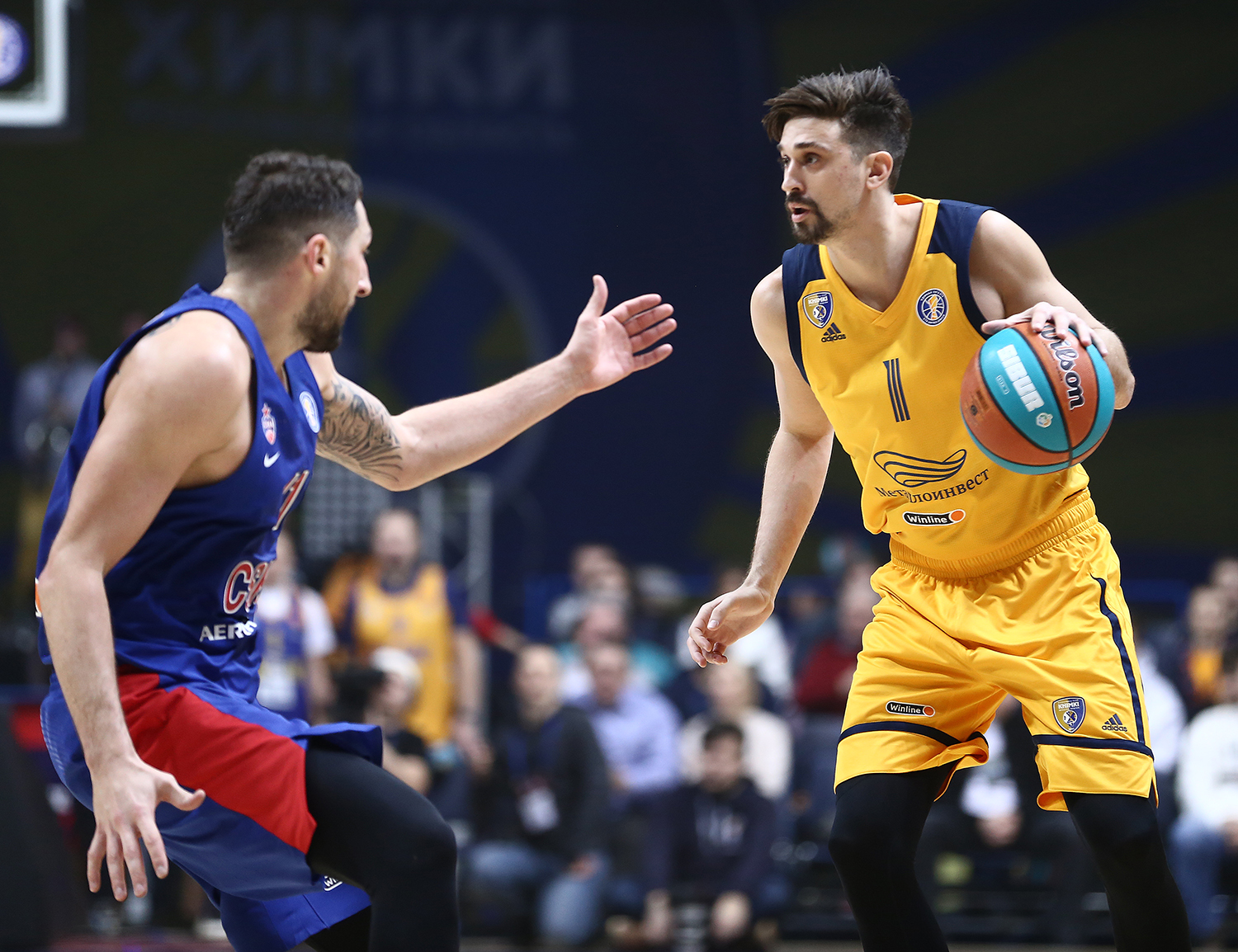 Khimki outplay CSKA at crowded Mytishchi