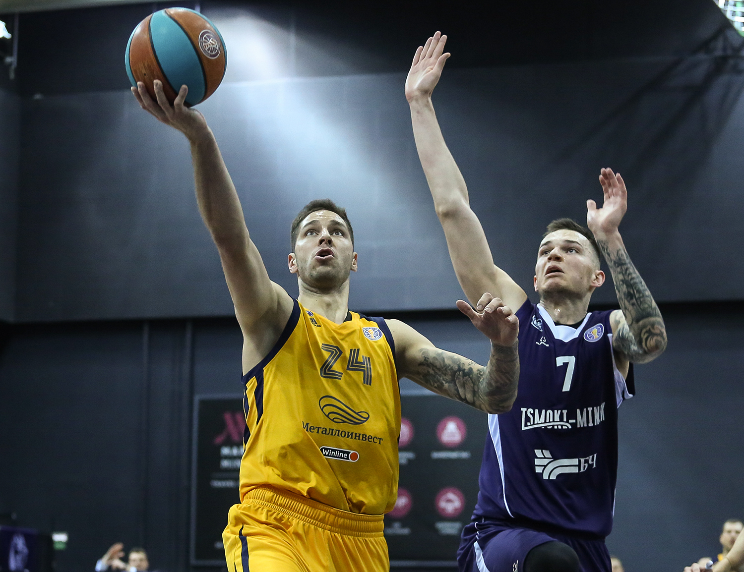 Khimki victorious in Minsk without Shved
