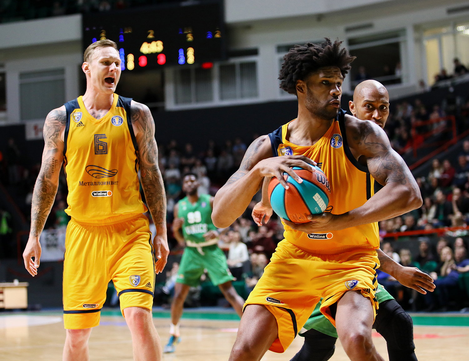 Khimki accept a fight and win in Kazan