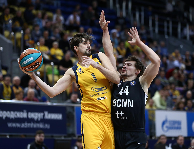 Khimki beat Nizhny in clutch