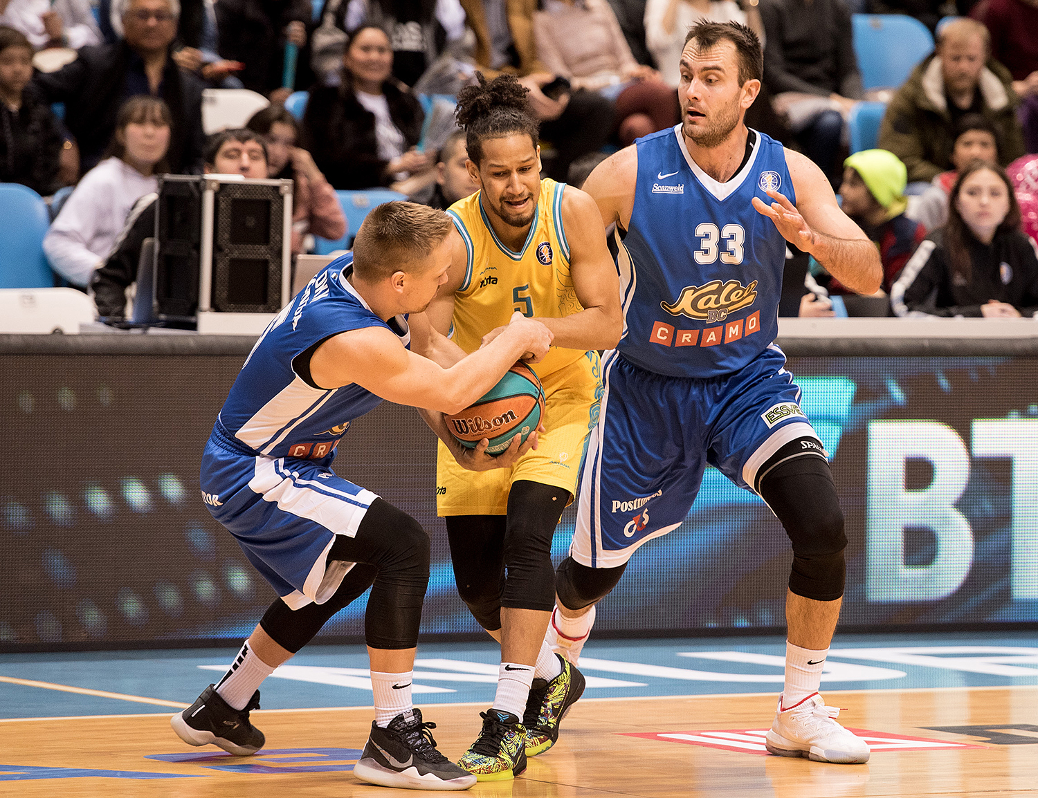 Kalev beat Astana and get back to play-off zone