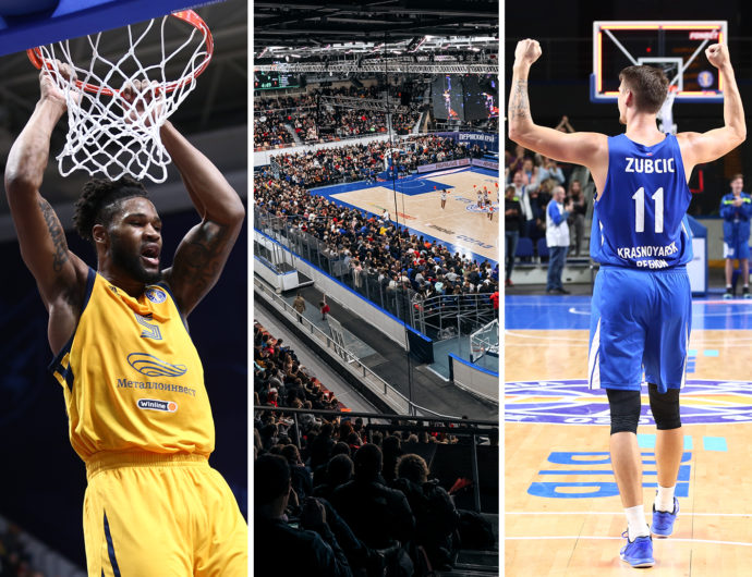 Khimki are the most efficient and spectacular, CSKA show best defense, Enisey are favourites threat. Cut season in review